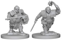 D&D Nolzur's Marvelous: Unpainted Minis - Dwarf Female Fighter image