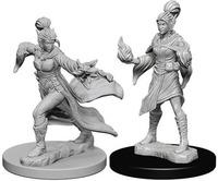 Pathfinder Deep Cuts: Unpainted Miniature Figures - Elf Female Sorcerer