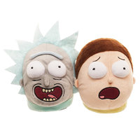 Rick and Morty Slippers (X-Large)