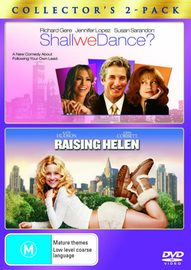 Shall We Dance? / Raising Helen (2 Disc Set) on DVD image
