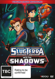 SlugTerra: Into The Shadows on DVD