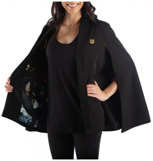 Harry Potter Magical Creatures Black Cape: S