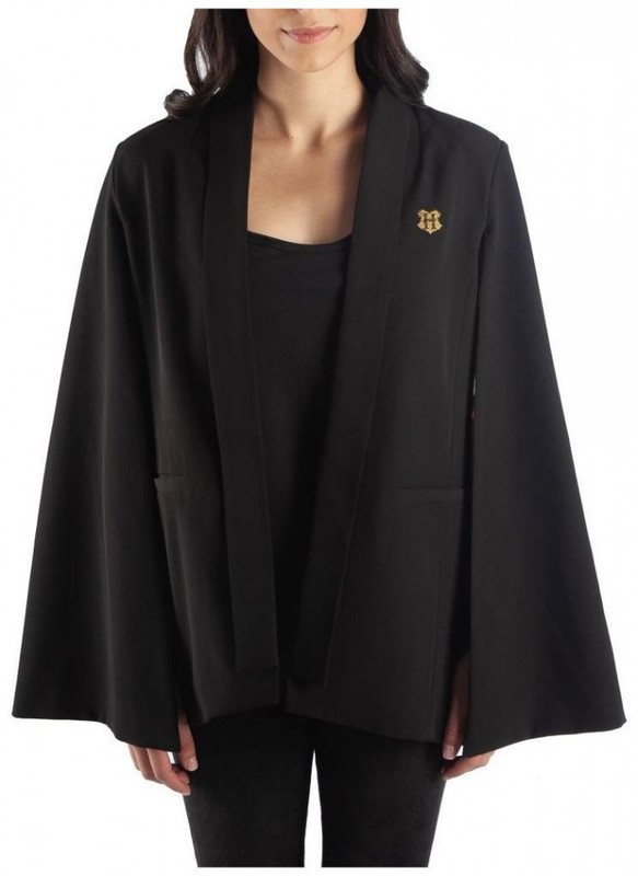 Harry Potter Magical Creatures Black Cape: XL