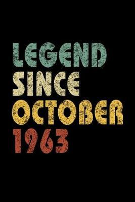 Legend Since October 1963 by Delsee Notebooks