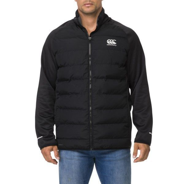 Canterbury: Thermoreg Hybrid Padded Jacket - Black (XXL)
