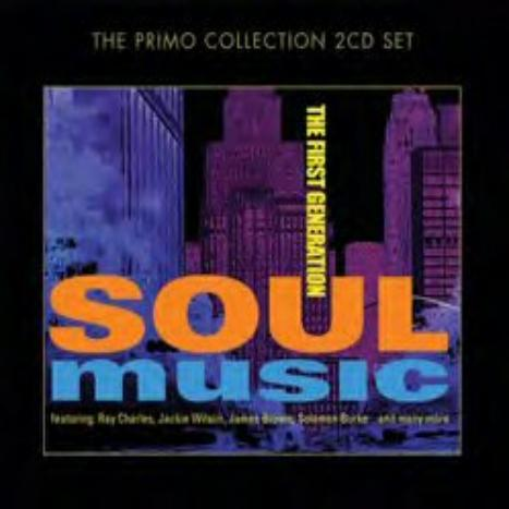Soul Music - The First Generation (2CD) by Various Artists image
