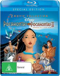Pocahontas / Pocahontas II - Journey to a New World on Blu-ray