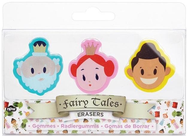 Fairytale Eraser Set