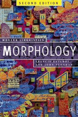 Morphology by Francis Katamba