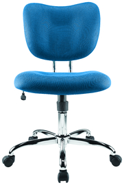 Brenton Studio Low Back Office Chair - Blue image