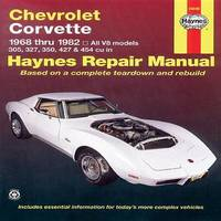 Chevrolet Corvette (68 - 82) by J.H. Haynes