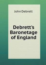 Debrett's Baronetage of England by John Debrett image