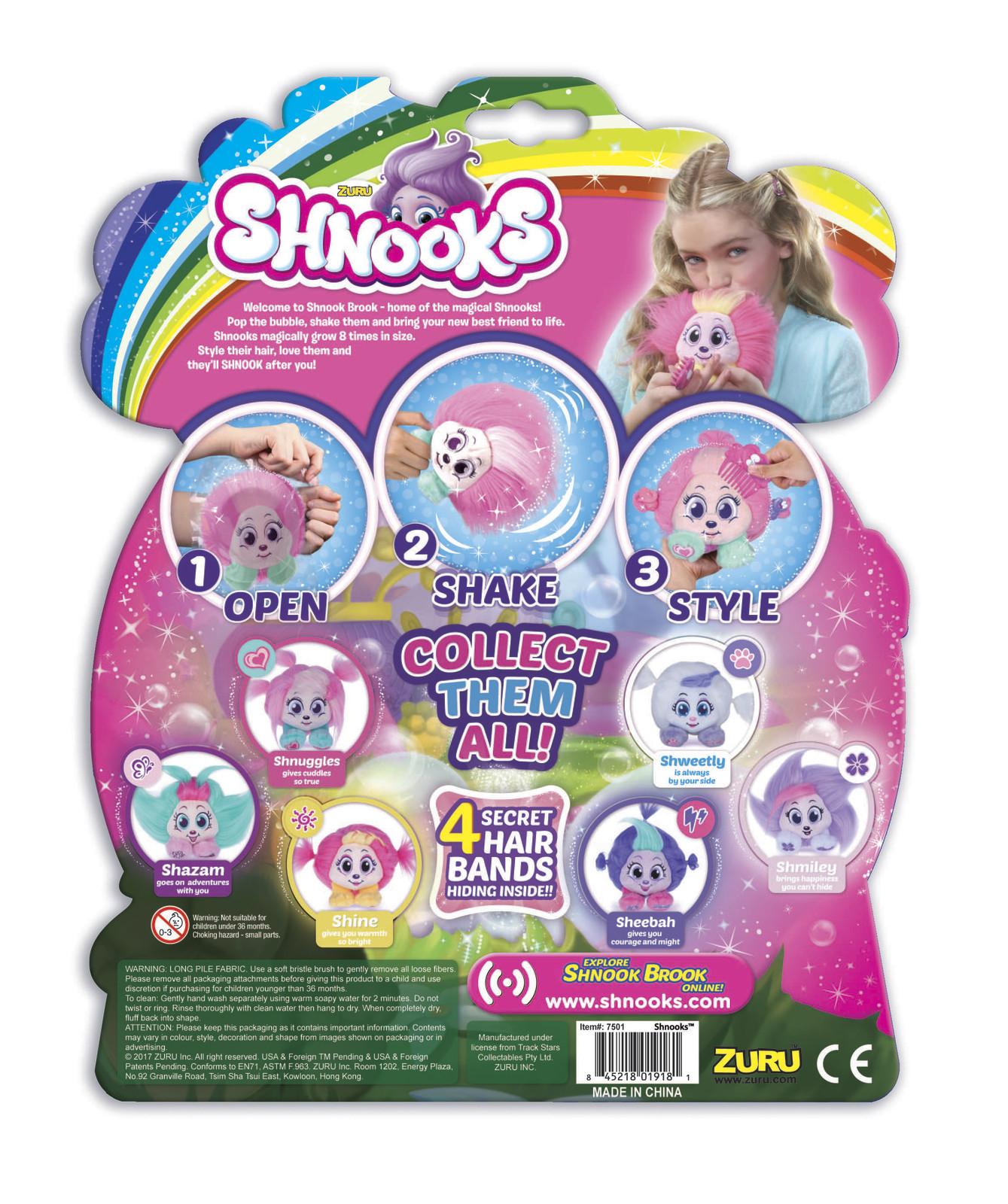 Shnooks: Magical Style Plush - Shnuggles image