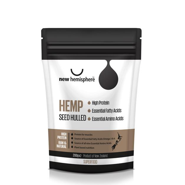 New Hemisphere Hemp Seed Hulled (200g)