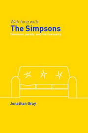 Watching with The Simpsons by Jonathan Gray image