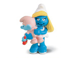 The Smurfs - Smurfette with Baby