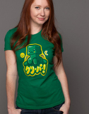 Minecraft - Kawaii Creeper Women's T-Shirt (L/XL)