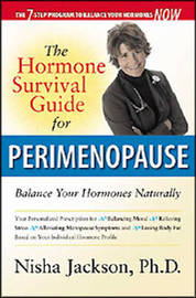 The Hormone Survival Guide for Perimenopause by Nisha Jackson image