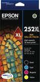Epson Ink Cartridge - 252XL (Value Pack)