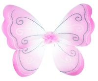 Pink Poppy: Princess Sparkle Wings - Pale Pink