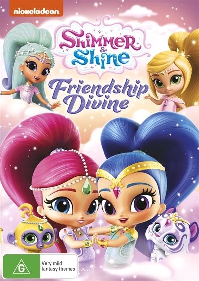 Shimmer & Shine: Friendship Devine on DVD image