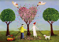Annie Hayward - Spring Love Greeting Card