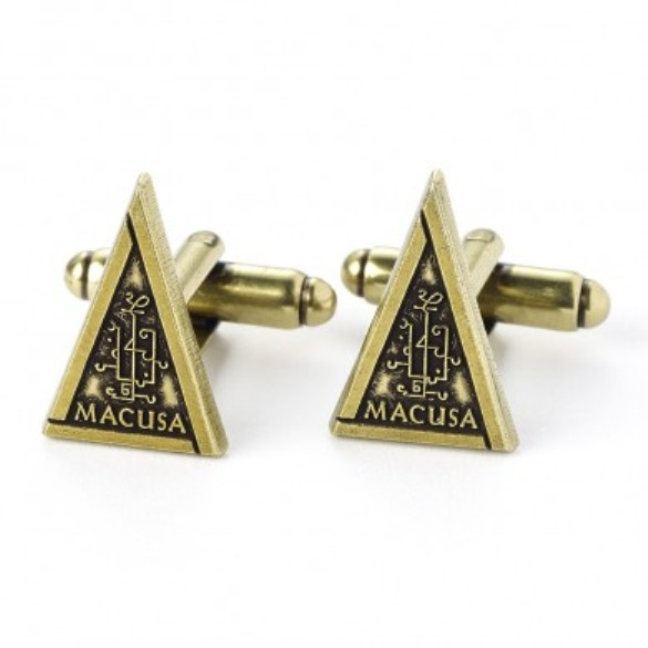 Fantastic Beasts: Macusa Cufflinks