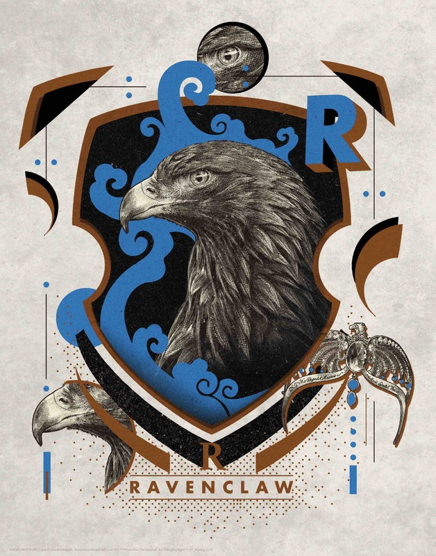 Harry Potter: Premium Art Print - Ravenclaw