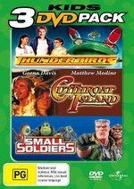 Thunderbirds / Cutthroat Island / Small Soldiers - Kids 3 DVD Pack (3 Disc Set) on DVD