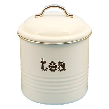 Tea Canister - White