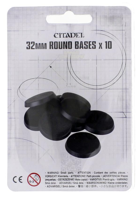 32mm Round Bases - Set of 10 image