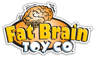 Fat Brain Toys: Rollobie - Baby Toy (Blue)