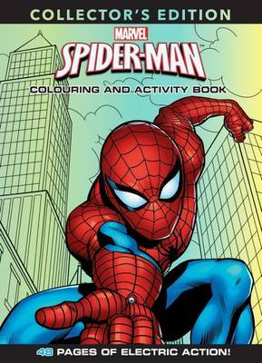 Spider-Man Deluxe Colouring and Activity Book