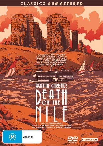 Death on the Nile on DVD image