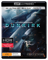 Dunkirk (4K UHD + Blu-ray) on UHD Blu-ray