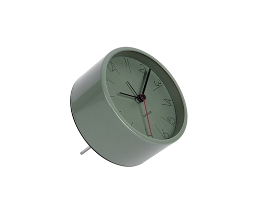 Karlsson Alarm Clock - Elegant Numbers (Green)