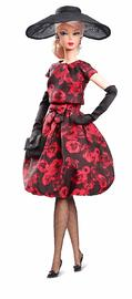 Barbie: Elegant Rose Cocktail Dress - Signature Doll