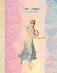 Tarot Journal Three Card Spread - Crystal Fairy by Helene Malmsio