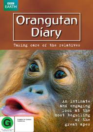 Orangutan Diary on DVD image