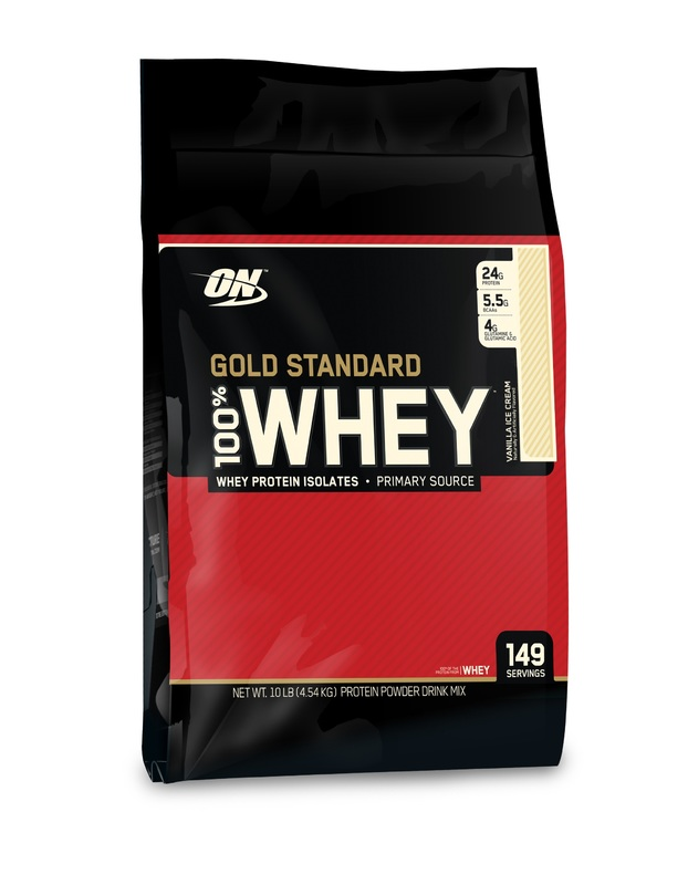 Optimum Nutrition Gold Standard 100% Whey - Vanilla Ice Cream (4.55kg)