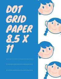 Dot Grid Paper 8.5 X 11 by John T Edelen