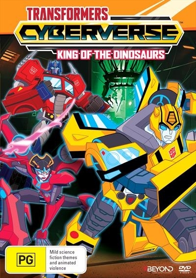 Transformers Cyberverse: King of the Dinosaurs on DVD image