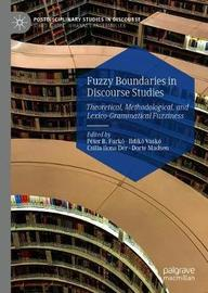 Fuzzy Boundaries in Discourse Studies