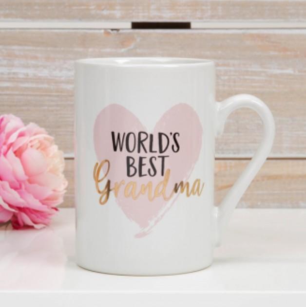 Mug: World's Best Grandma