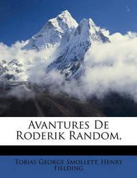 Avantures de Roderik Random, by Henry Fielding