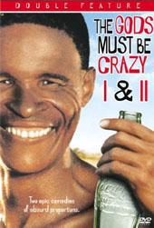 Gods Must Be Crazy, The I & II on DVD