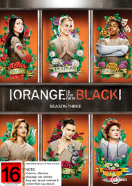 Orange is the New Black Season 3 (4 Disc Set) on DVD