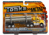 Tonka: Die-Cast Big Rig (Pipe Truck)