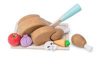 Le Toy Van: Chicken Sunday Roast Wooden Roleplay Set