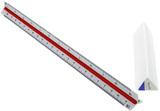 Standardgraph Tri Scale Ruler - Architect (1:20, 1:25, 1:50, 1:75, 1:100, 1:125)